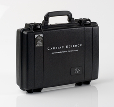 Cardiac Science G3 or G5 Hard Sided Waterproof Carry Case
