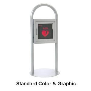 Freestanding AED Cabinet